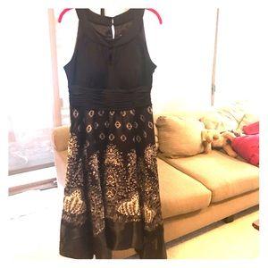 NWOT - Melrose Sleeveless Abstract A-Line Dress